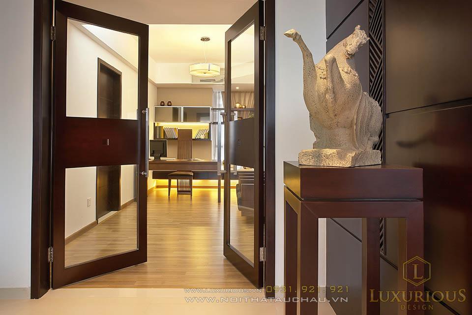 Thiết kế thi công căn hộ chung cư cao cấp