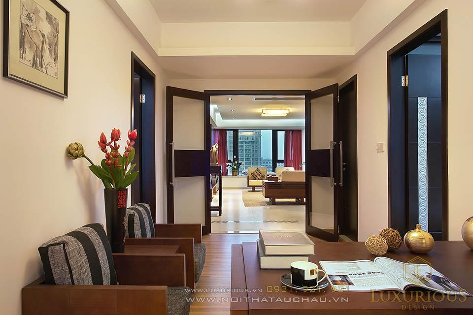 Thiết kế thi công căn hộ chung cư nhà báo Khôi Nguyên