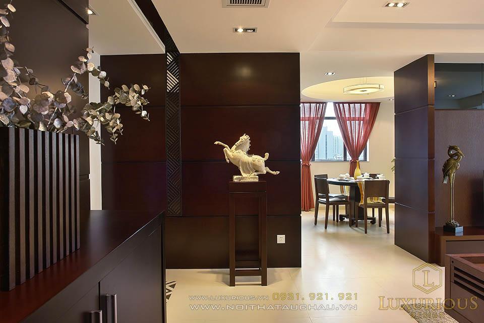 Thiết kế thi công căn hộ chung cư nhà báo Khôi Nguyên 1