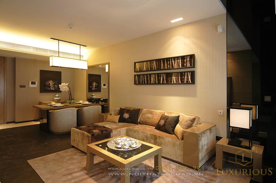 thiết kế thi công chung cư với nội thất cao cấp