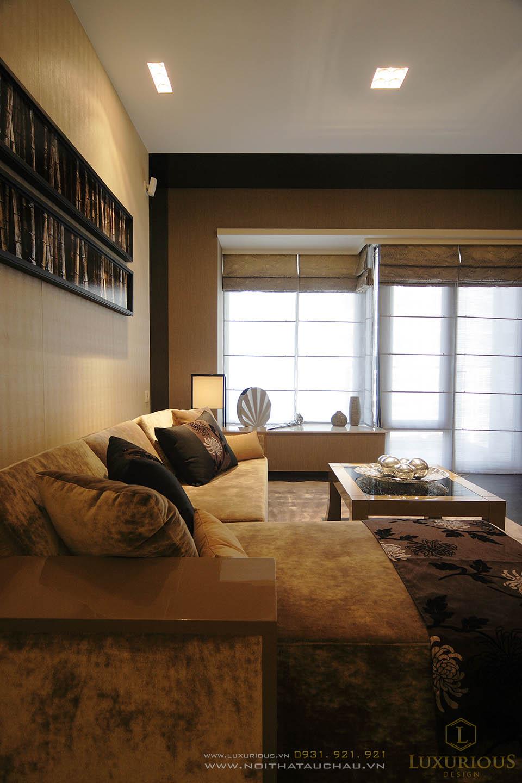 Thiết kế thi công nội thất chung cư triệu đô với đồ nội thất cao cấp