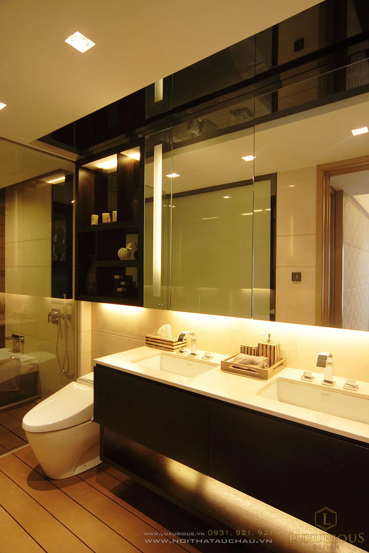 Thi công nội thất phòng vệ sinh chung cư cao cấp