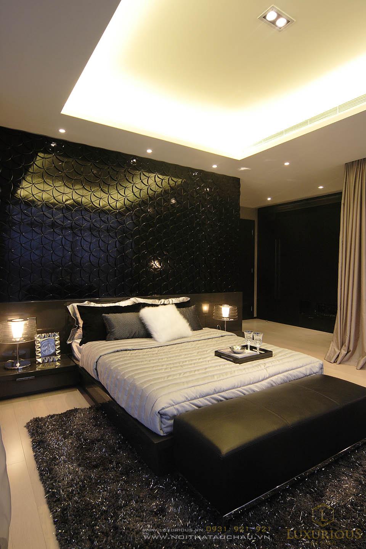 Thiết kế nội thất phòng ngủ nhà phố