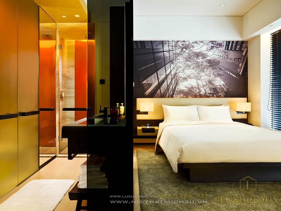 Thi công thiết kế nội thất khách sạn