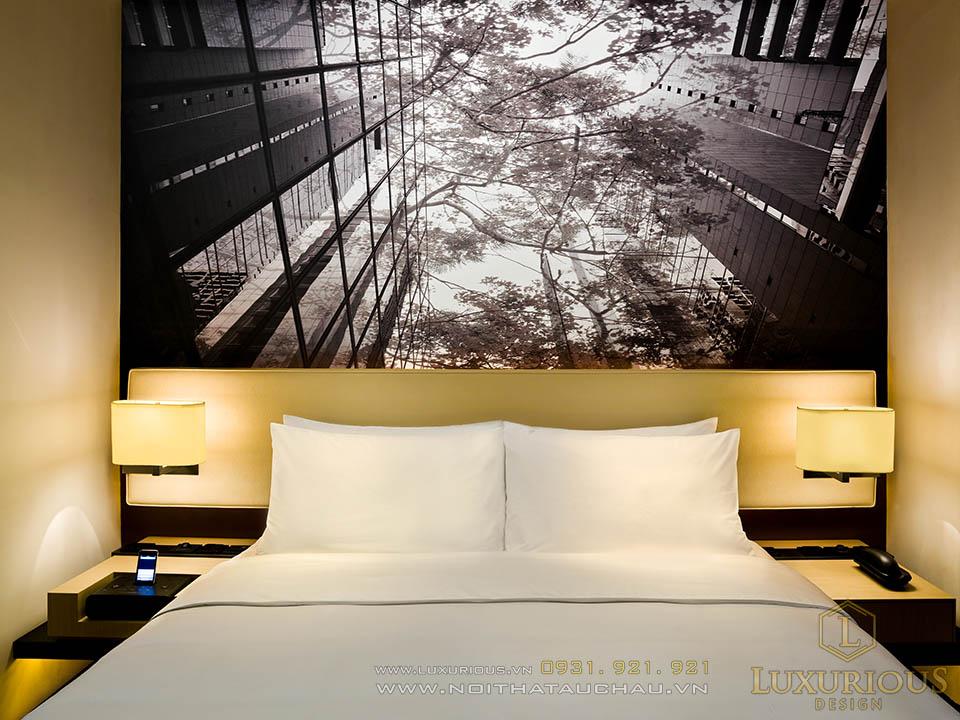 Thi công nội thất phòng khách sạn tại Quảng Ninh