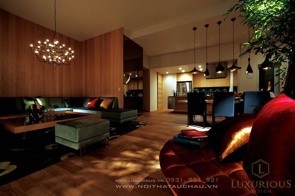 Thiết kế thi công nội thất penthouse Hà Nội