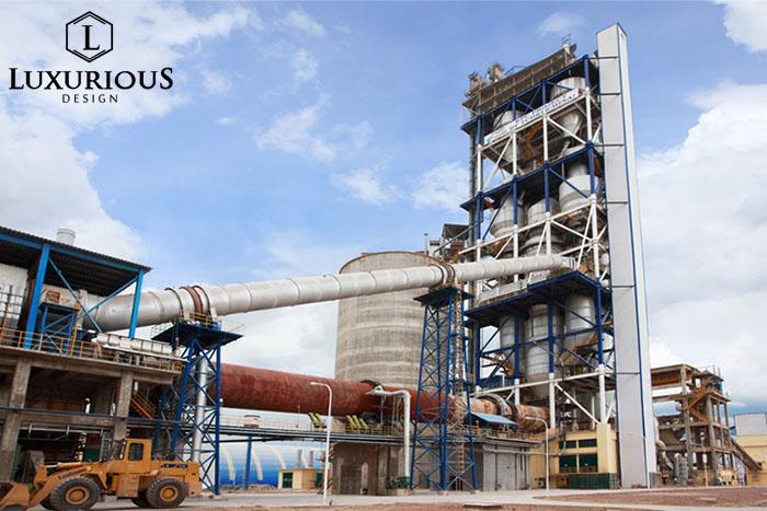 Nhà máy sản xuất xi măng