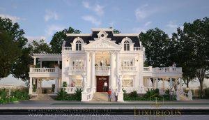 Thiết kế kiến trúc dinh thự