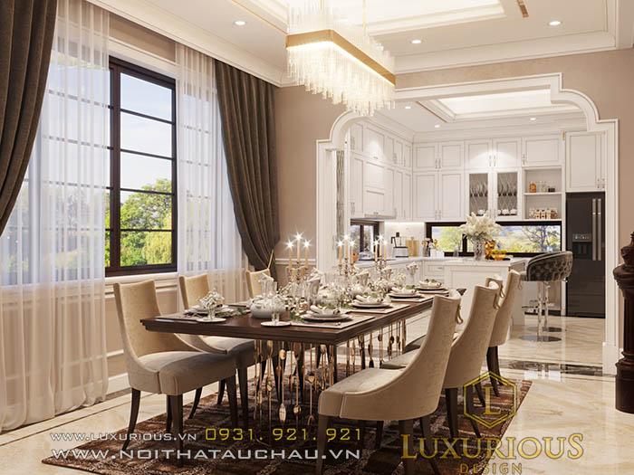 Mẫu thiết kế nội thất bếp chung cư ciputra đẹp
