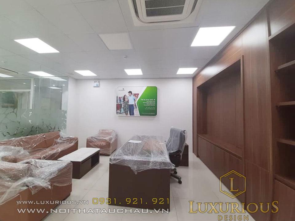 Phòng giám đốc ngân hàng Vietcombank
