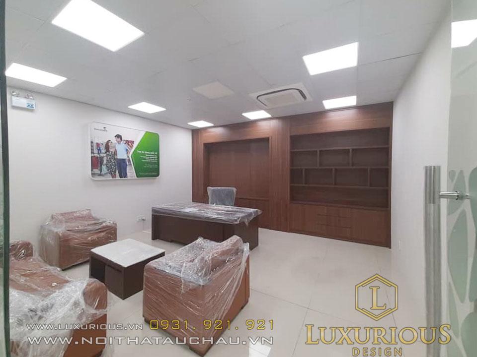 Phòng quản lý văn phòng vietcombank
