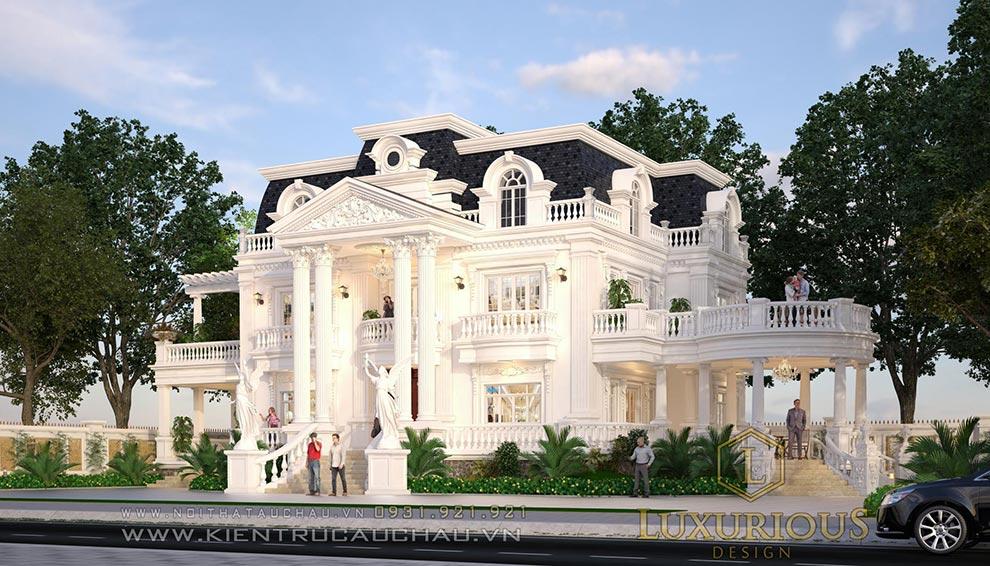 Thi công kiến trúc biệt thự tại Quảng Ninh