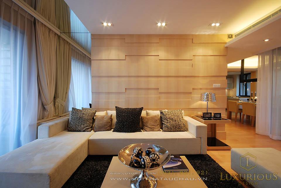 Thiết kế thi công nội thất căn hộ chung cư 80m2 2 phòng ngủ