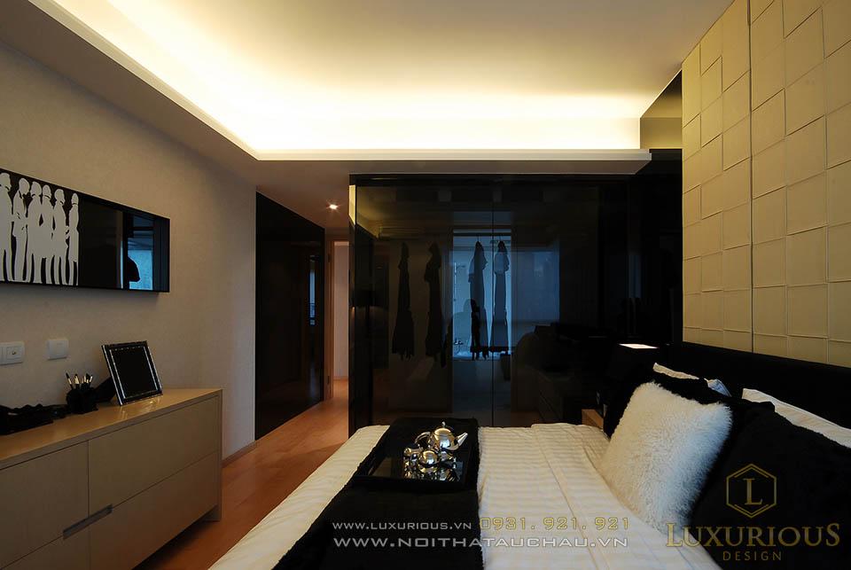Thi công nội thất phòng ngủ hiện đại đơn giản
