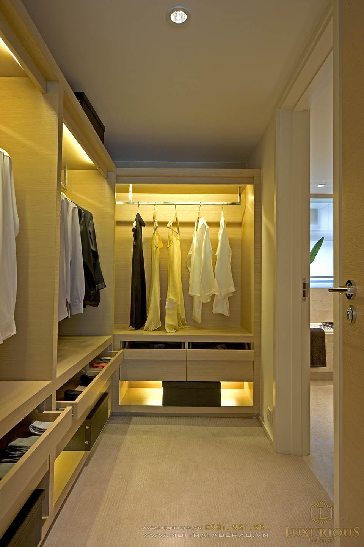 Thiết kế phòng thay đồ hiện đại tiện nghi