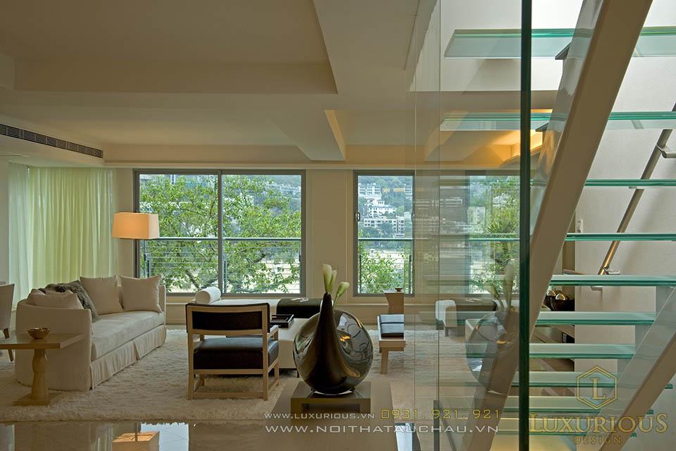 Thiết kế nội thất nhà biệt thự  120m2 3 tầng