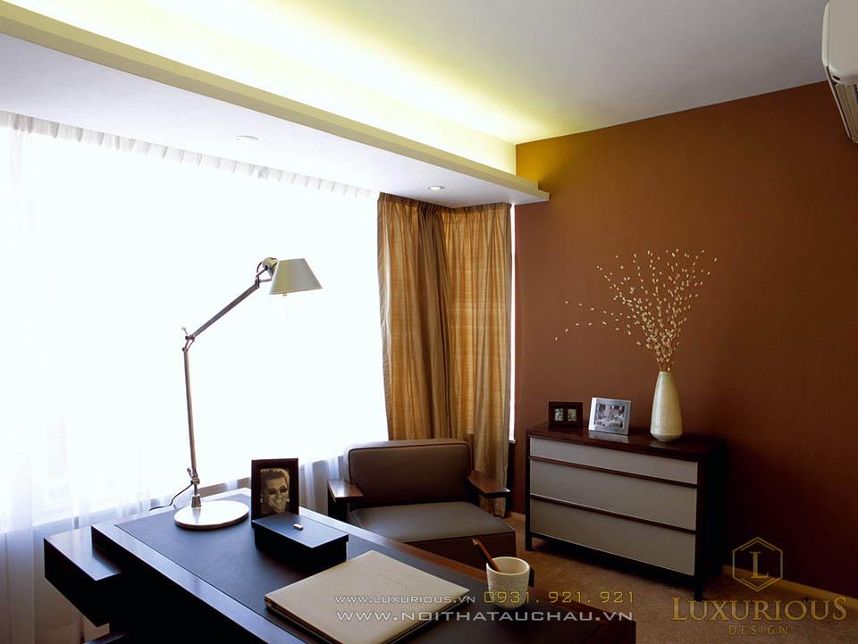 Thiết kế thi công nội thất phòng ngủ nhà biệt thự