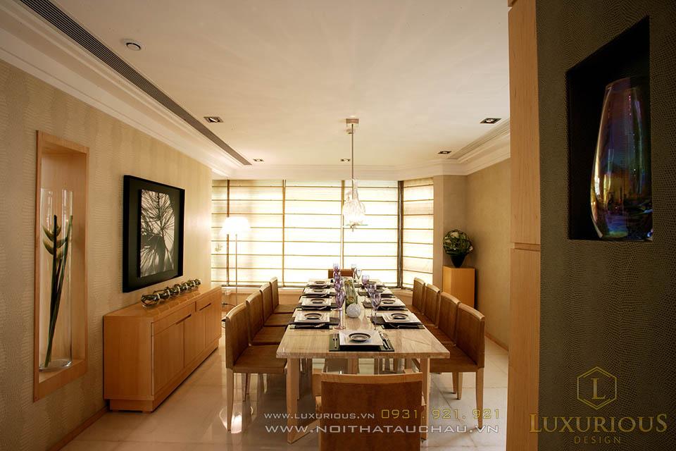 Thiết kế thi công nội thất chung cư Penthoues tại Hà Nội