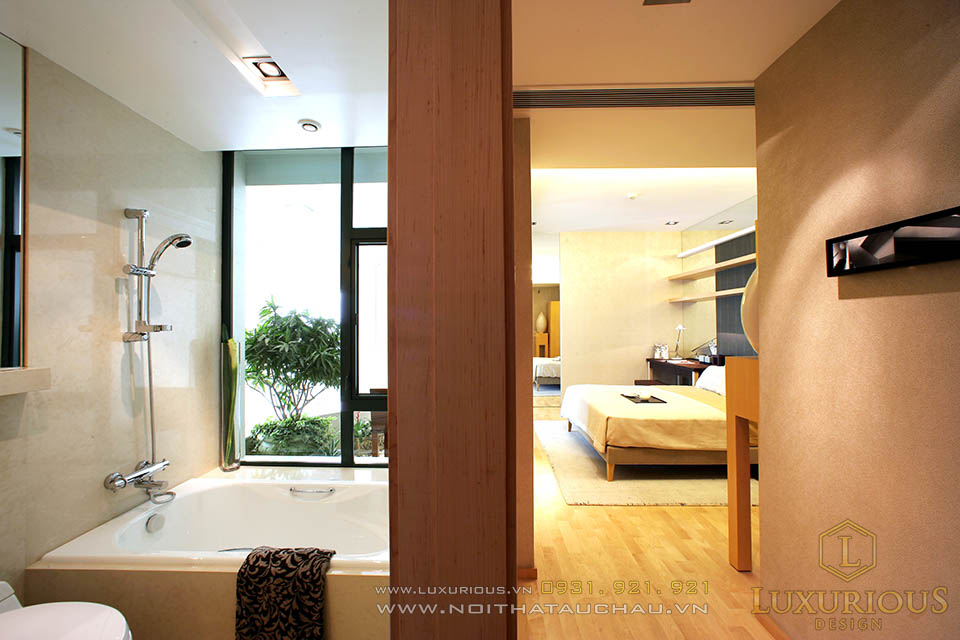 Thi công nội thất chung cư căn hộ Penthouses ở Hà Nội
