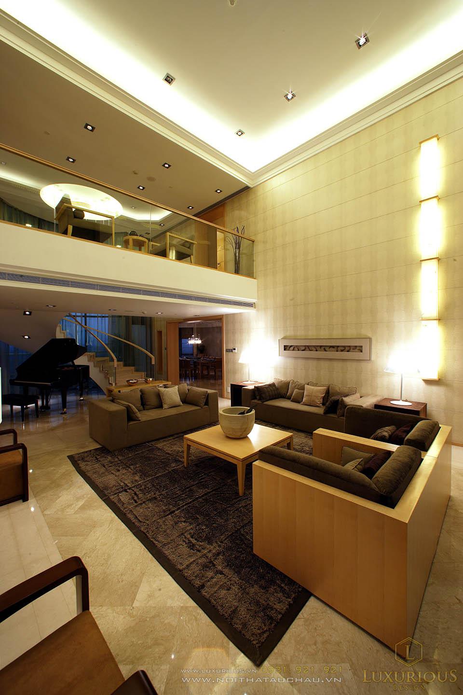 Thiết kế thi công nội thất chung cư căn hộ penthouses