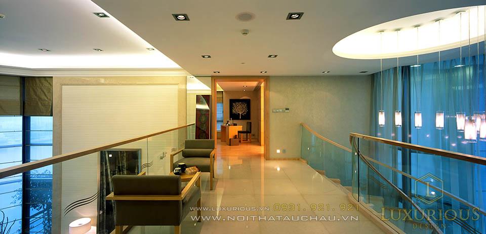 Thi công nội thất căn hộ Penthouses Hà Nội