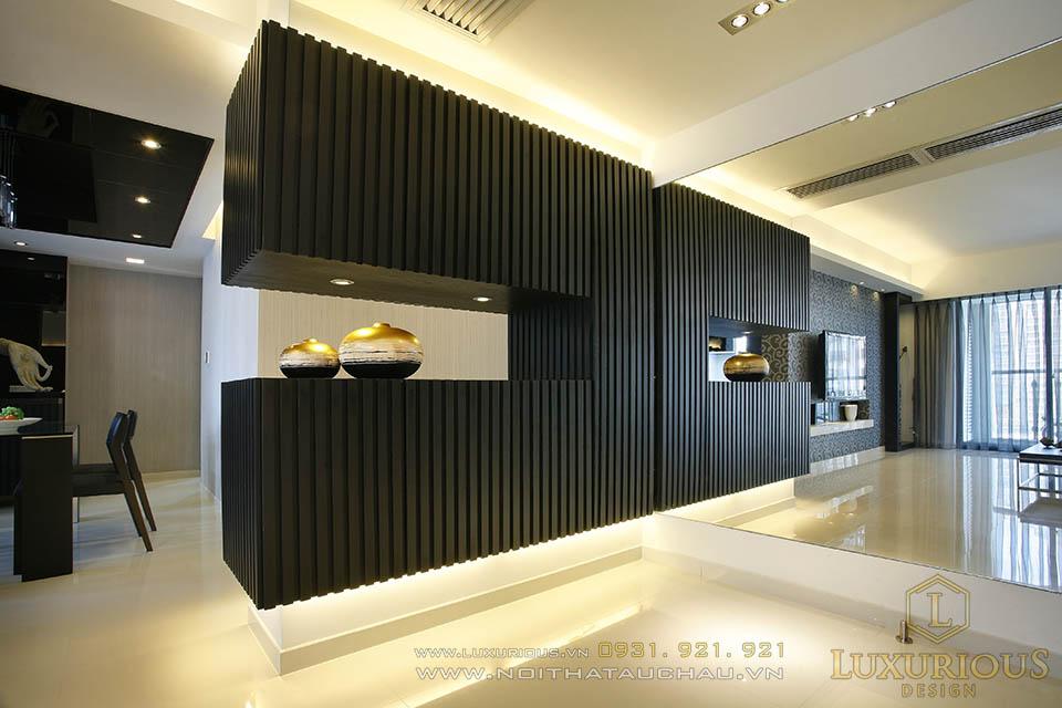 Thiết kế chung cư cao cấp phong cách hiện đại