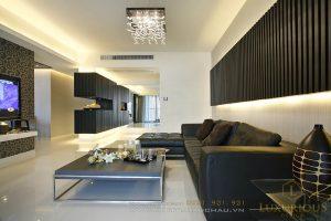 thiết kế thi công nội thất chung cư 68m2