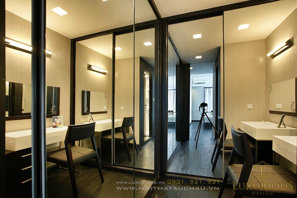 Thi công nội thất trọn gói chung cư cao cấp 68m2