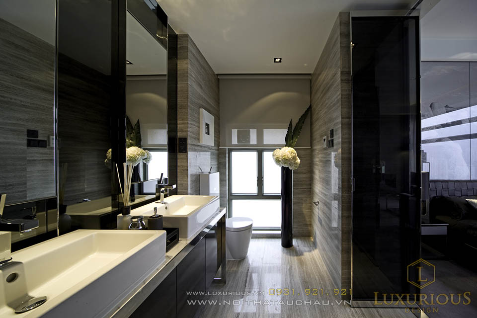 Nội thất phòng vệ sinh căn hộ chung cư cao cấp TP Hồ Chí Minh