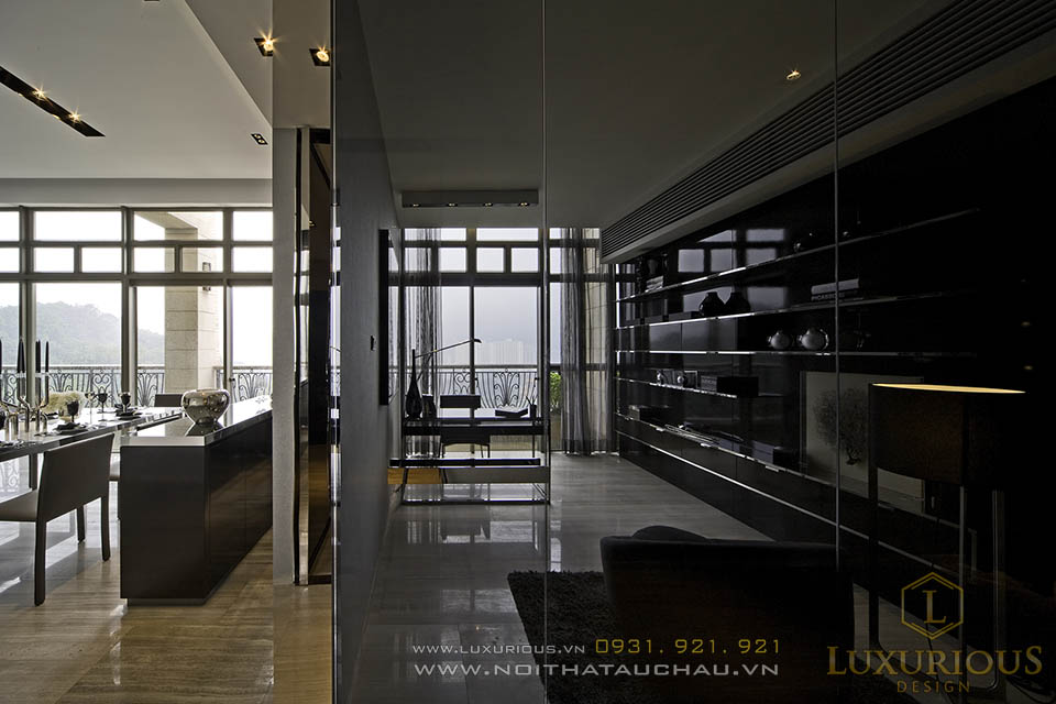 Thi công nội thất tổng thể chung cư penthouses triệu đô