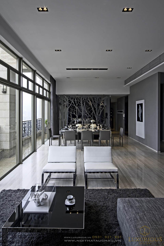 Thiết kế nội thất chung cư penthouses cao cấp tại thành phố Hồ Chí Minh