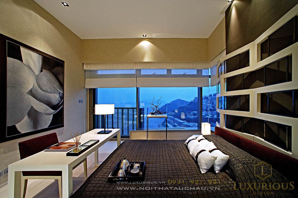 Thiết kế nội thất phòng ngủ khách sạn mini Đà Nẵng