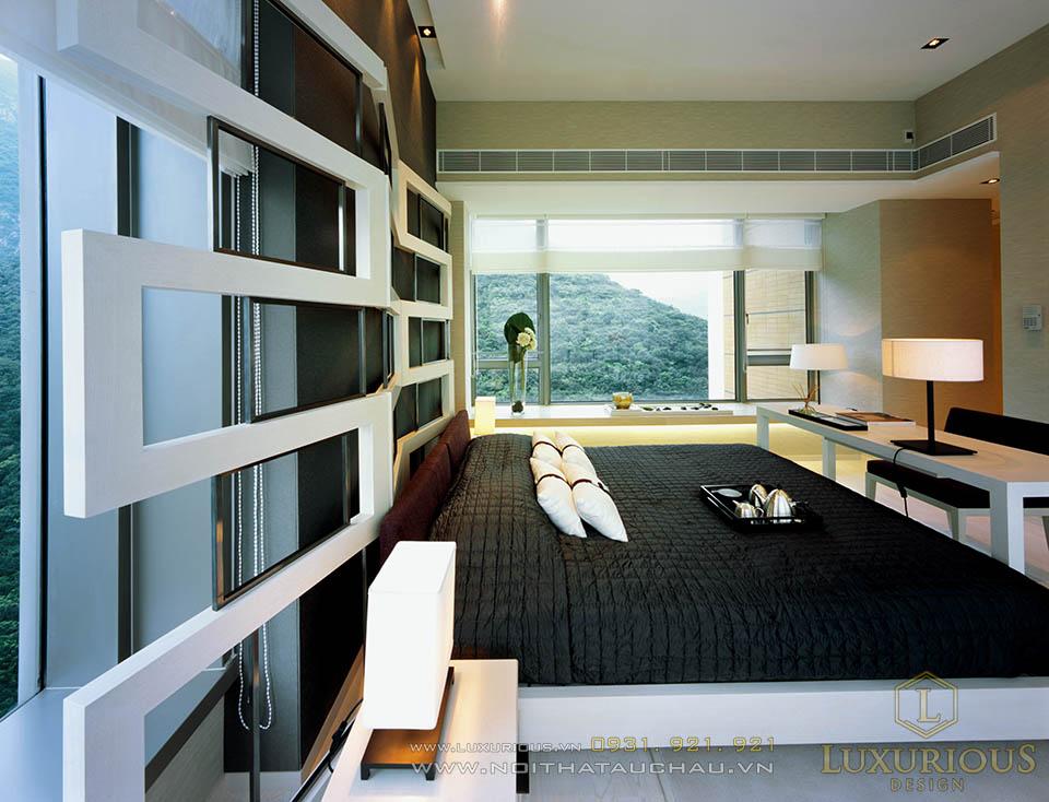Thi công nội thất phòng ngủ khách sạn mini