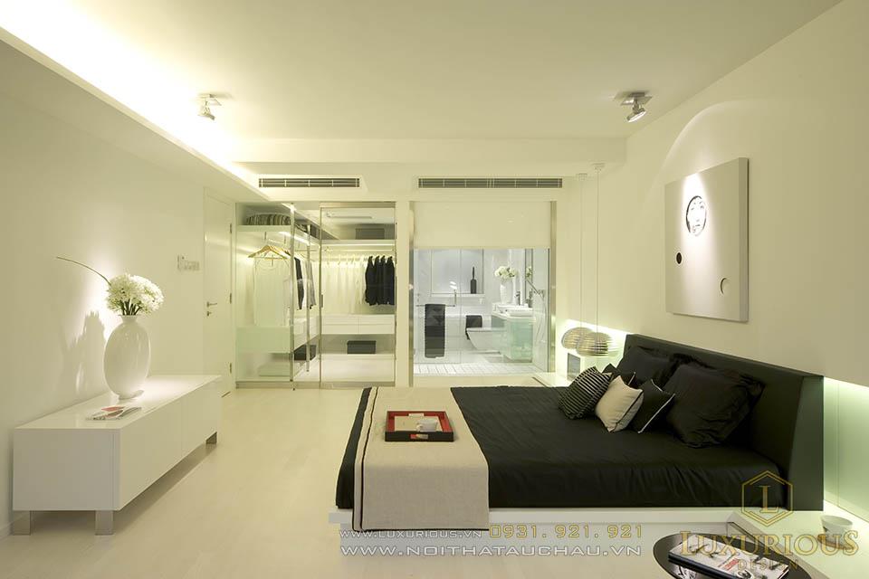 Phòng ngủ hiện đại sang trọng và ấm cúng