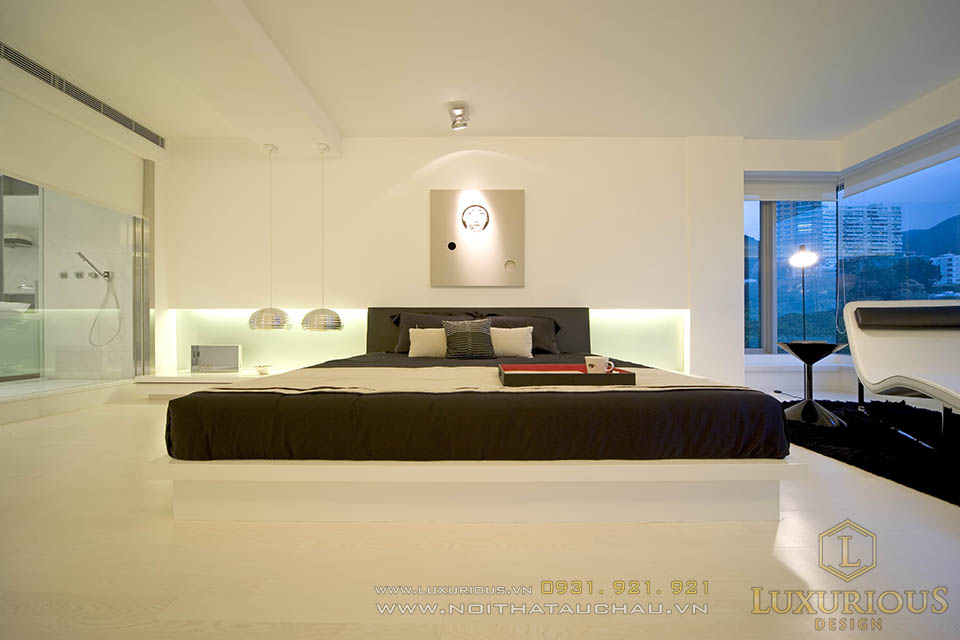 Thiết kế thi công nội thất nhà biệt thự phong cách hiện đại