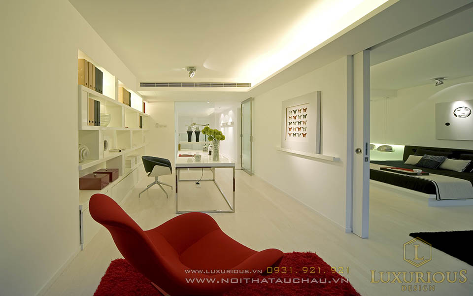 Thiết kế thi công nội thất biệt thự 2 tầng hiện đại