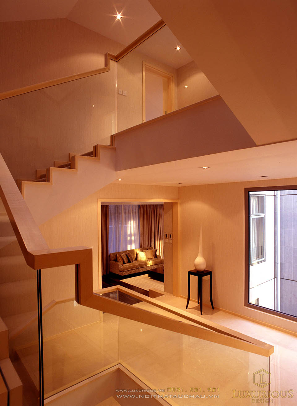 Thiết kế thi công nội thất nhà lô phố