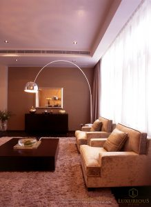 Thiết kế thi công nội thất phố 3 tầng hiện đại