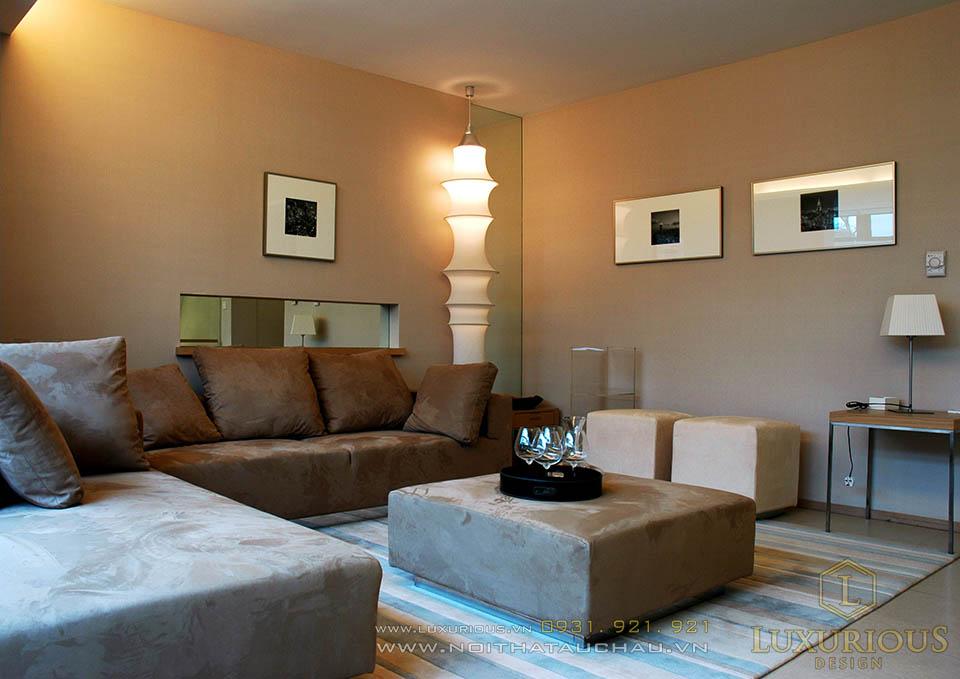 Thiết kế thi công nội thất nhà phố 3 tầng phong cách hiện đại