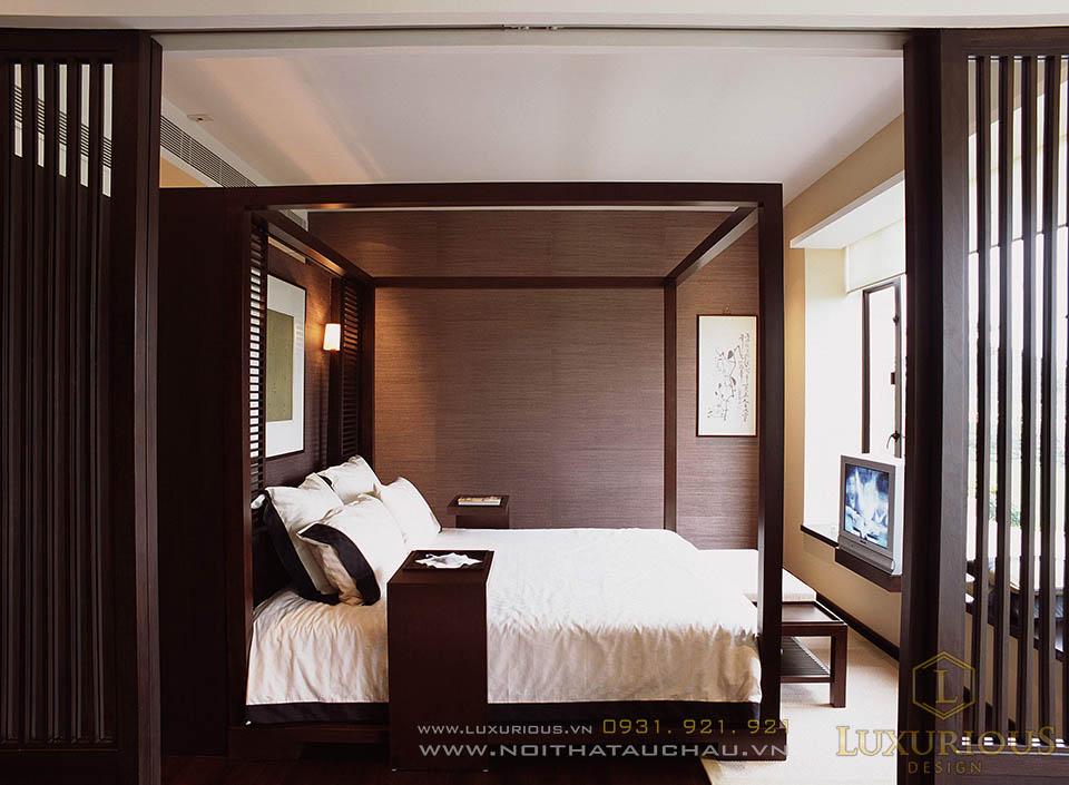 Thiết kế nội thất phòng ngủ Resort mini tại Đà Nẵng