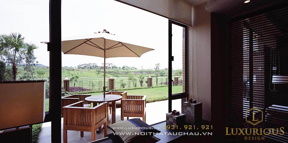 thiết kế thi công nội thất khu nghỉ dưỡng tại Đà Nẵng