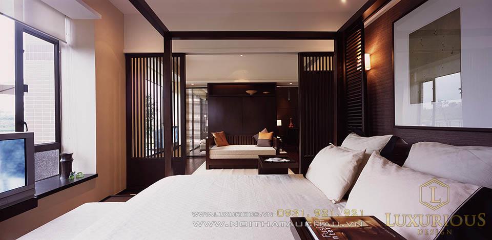 Thi công nội thất phòng ngủ Resort