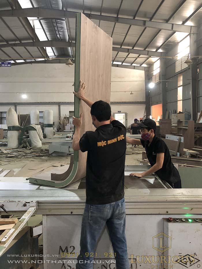 xưởng thi công sản xuất đồ gỗ hà nội
