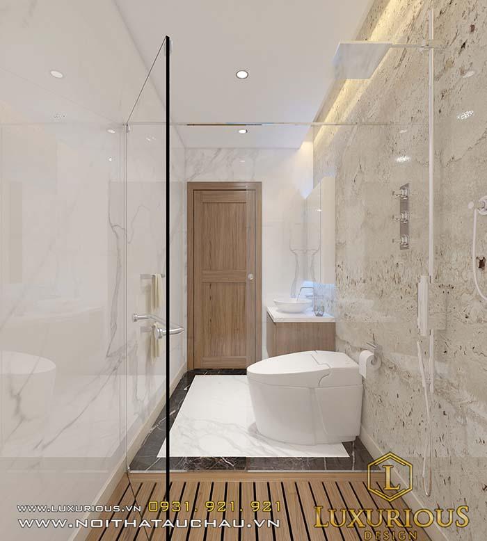 Thiết kế chung cư 70m2 2 phòng tắm