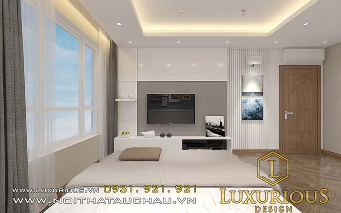 Thiết kế chung cư 70m2 phòng ngủ master