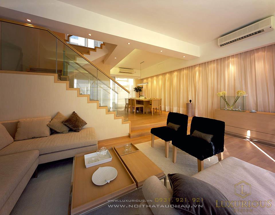 Thi công nội thất biệt thự hiện đại 2 tầng 100m2