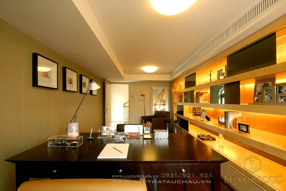 Thiết kế nội thất biệt thự đẹp hiện đại 3 tầng 1 tum