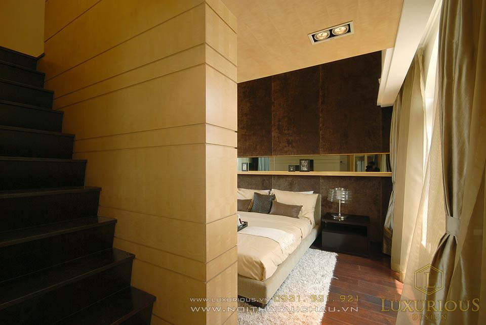 Thiết kế thi công nội thất biệt thự hiện đại 3 tầng