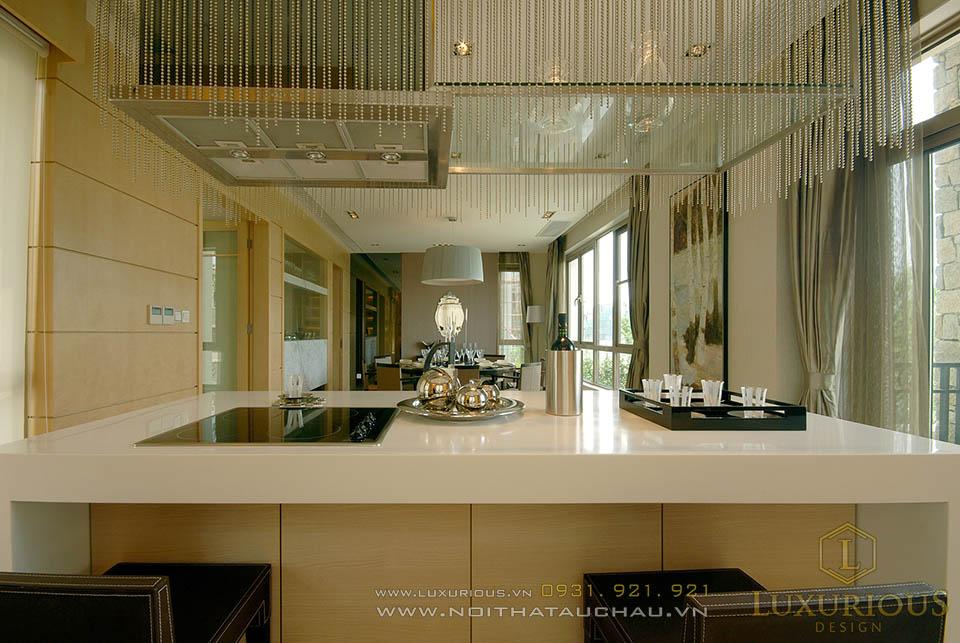 Mẫu biệt thự 3 tầng đẹp với nội thất sang trọng đẳng cấp