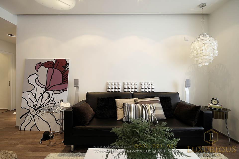 Thiết kế nội thất biệt thự biện đại 3 tầng